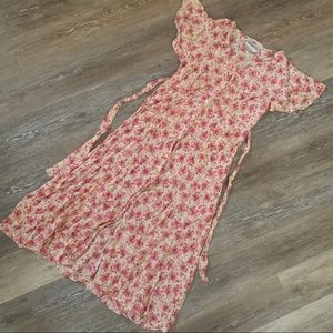 Vintage Button up Summer Dress